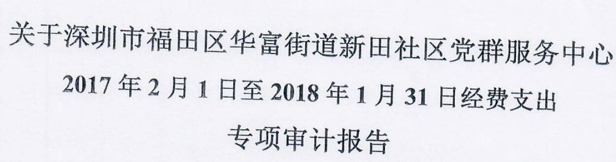 2017年审计报告(新田)