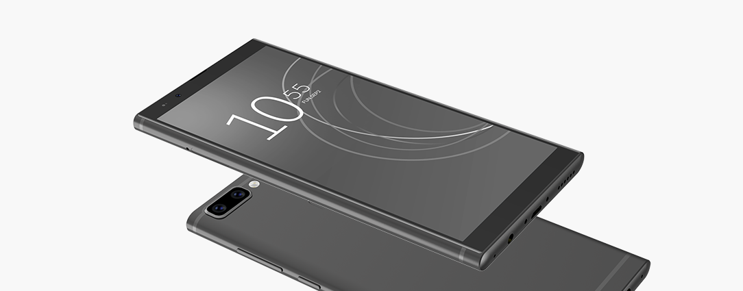 To your taste and to my feelings KEN XIN DA's ultra-thin smart phone EL K20 with dual camera