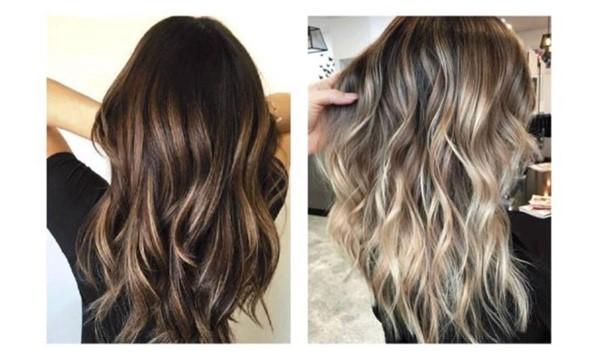 2018高级的人都爱上琉璃染的发型设计