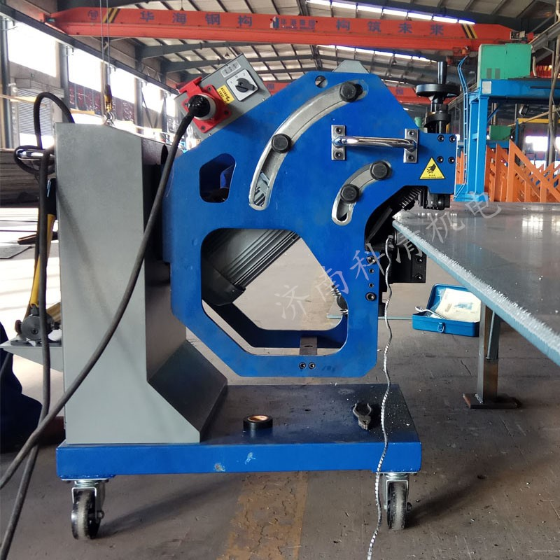 金秋报喜,三台自动钢板坡口机在济南黄台煤气炉有限公司成功验收