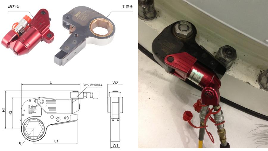 RTB系列--中空式液压扳手