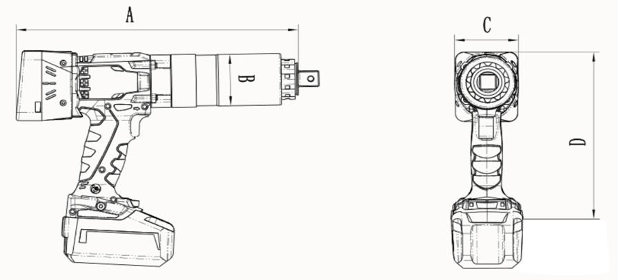 BBM-D系列--数控充电扭矩扳手