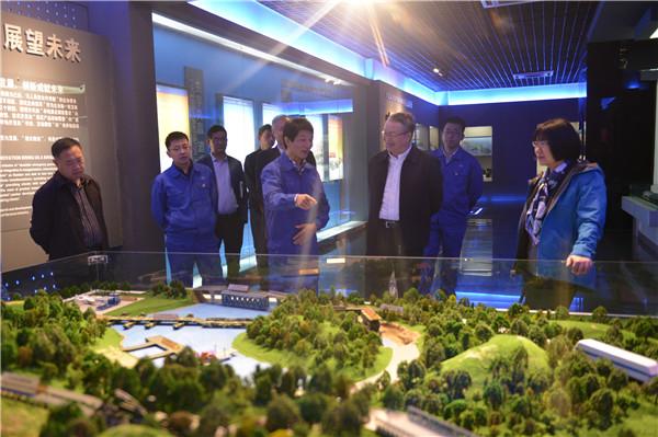 武汉市人大常委会副主任胡树华到公司调研