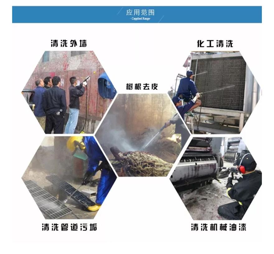 科球超高压清洗机KQ-2150 500公斤压力清洗机