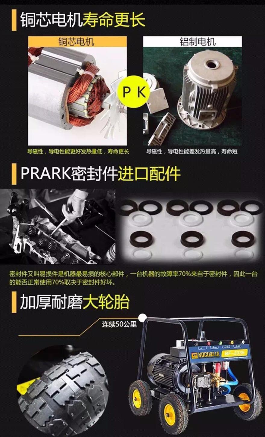 科球超高压清洗机 350公斤压力清洗机