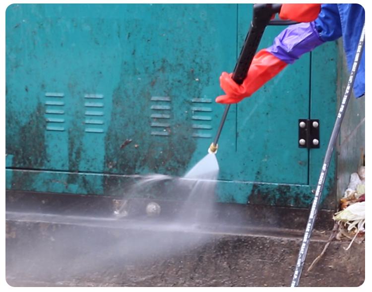 科球高压热水冲洗车