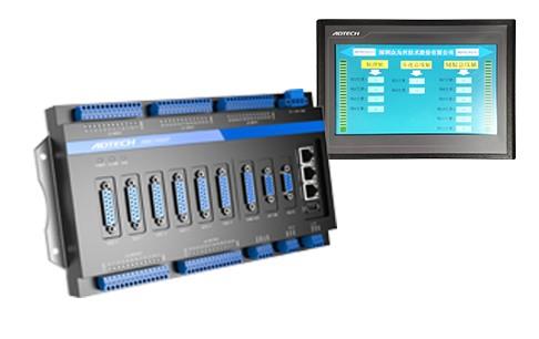 高性能3-6軸植毛機控制器(7寸或10寸屏)