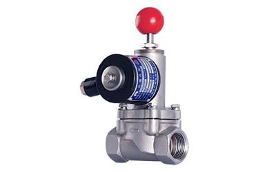 OSA82系列活塞式告急堵截电磁阀 (常开型、电关、手动复位开)