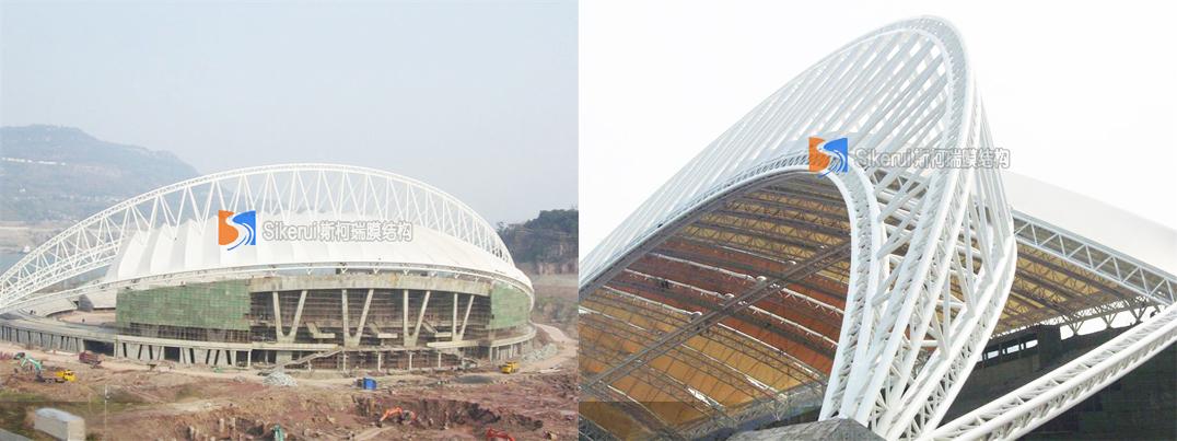 万州体育馆膜结构