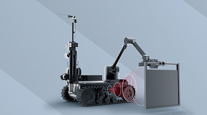 X射线排爆侦测机器人 Tracker IIIX