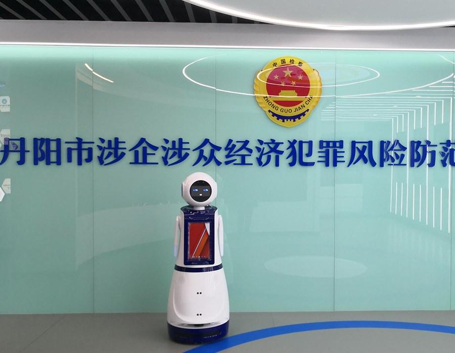 安泽展厅展馆机器人,打造智能化无人值守展厅!