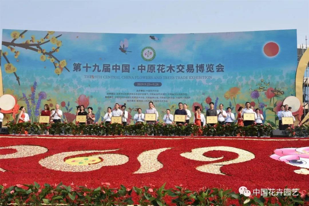 2020年中原花木交易博览会云上开 | 动态