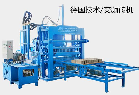 QTY5-20A型液压砌块砖机
