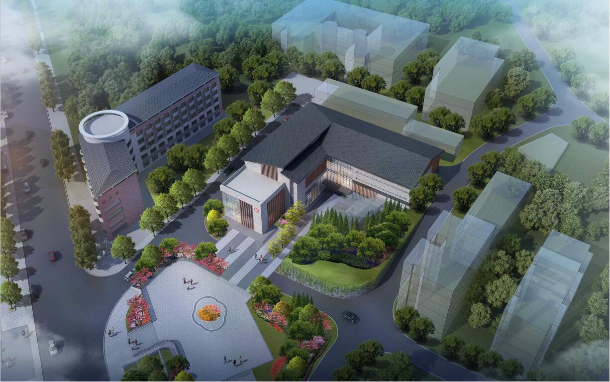 二里半科技文化东广场