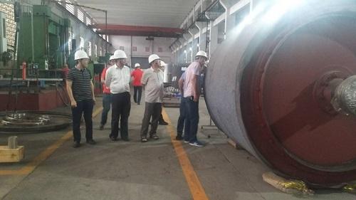 热烈欢迎青海盐湖工业股份有限公司莅临重庆博张参观考察!