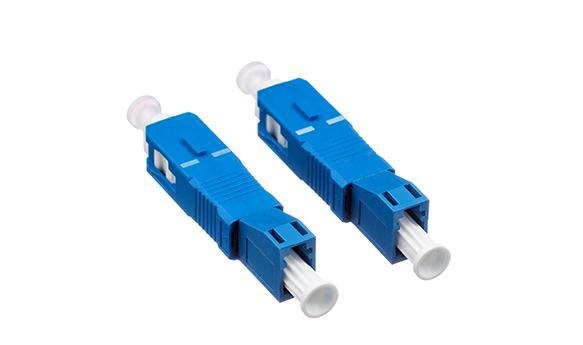 Simplex LC Female to SC male conversion adapter