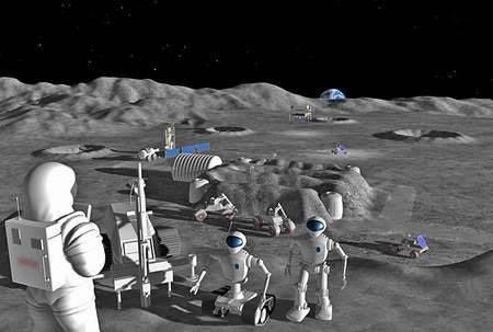 执行力培训项目:月球行走