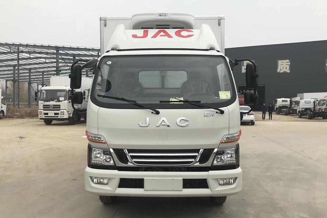 江淮骏铃4.2米蓝牌冷藏车V6