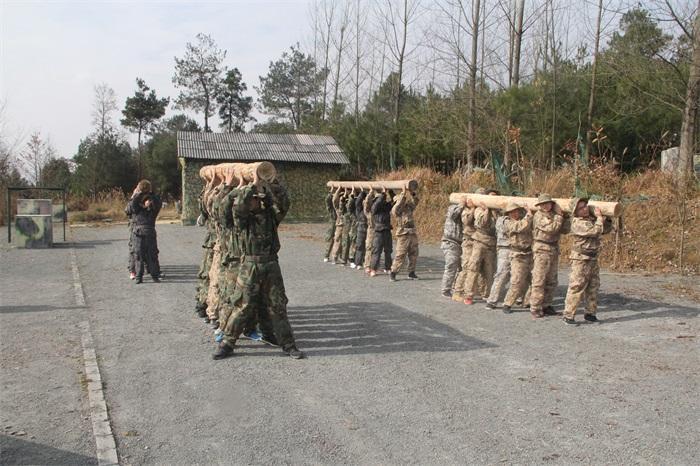 执行力培训项目:军事圆木