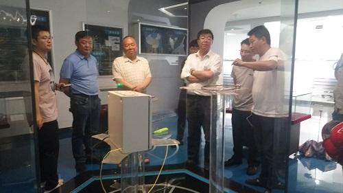 Warmly welcome Qinghai Salt Lake Industry Co., Ltd. to visit Chongqing Bozhang!