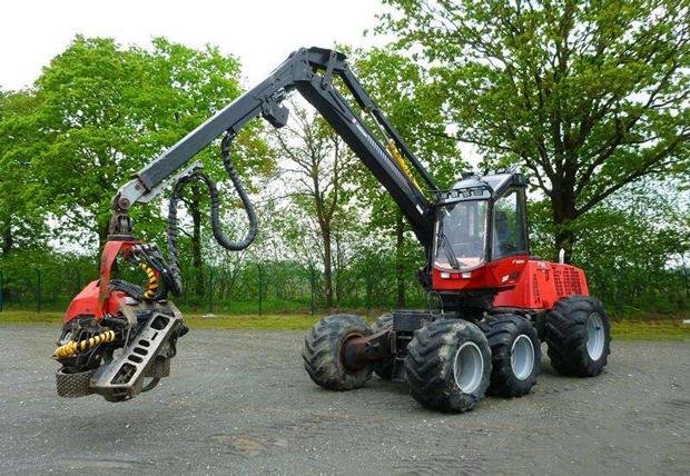 海森五金機械產品應用于廣大農林業機械行業領域