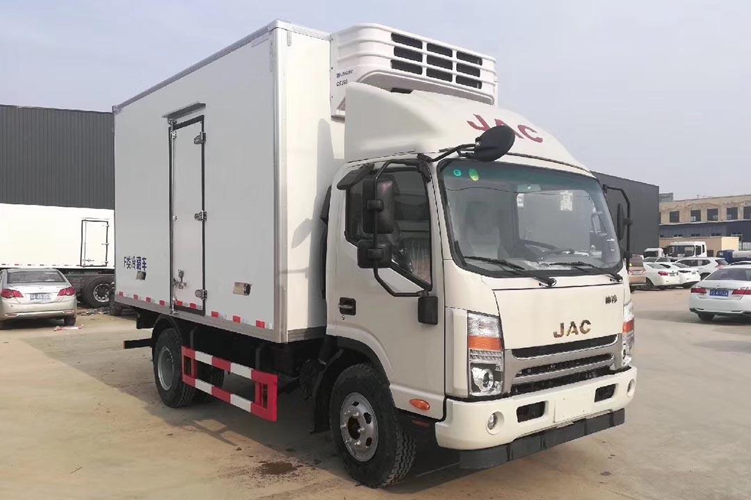 江淮帅铃4.2米蓝牌冷藏车