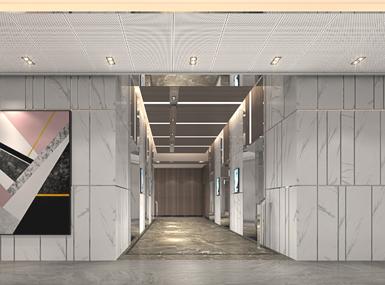 公寓电梯间