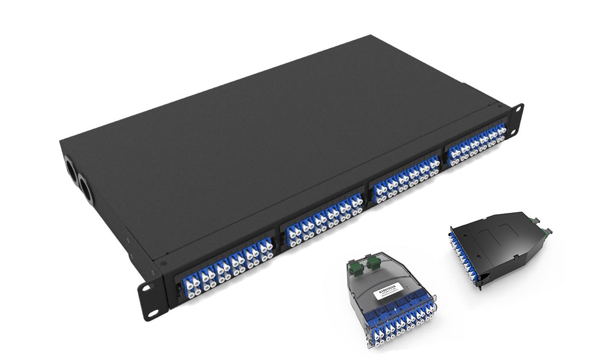 1U UHD MTP-LC 96F Patch panel