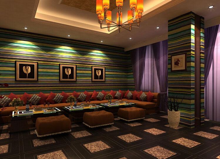 KTV包房室内3D效果图