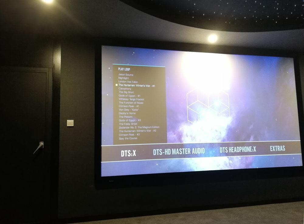 北京某影视音乐制作公司审片室影院系统