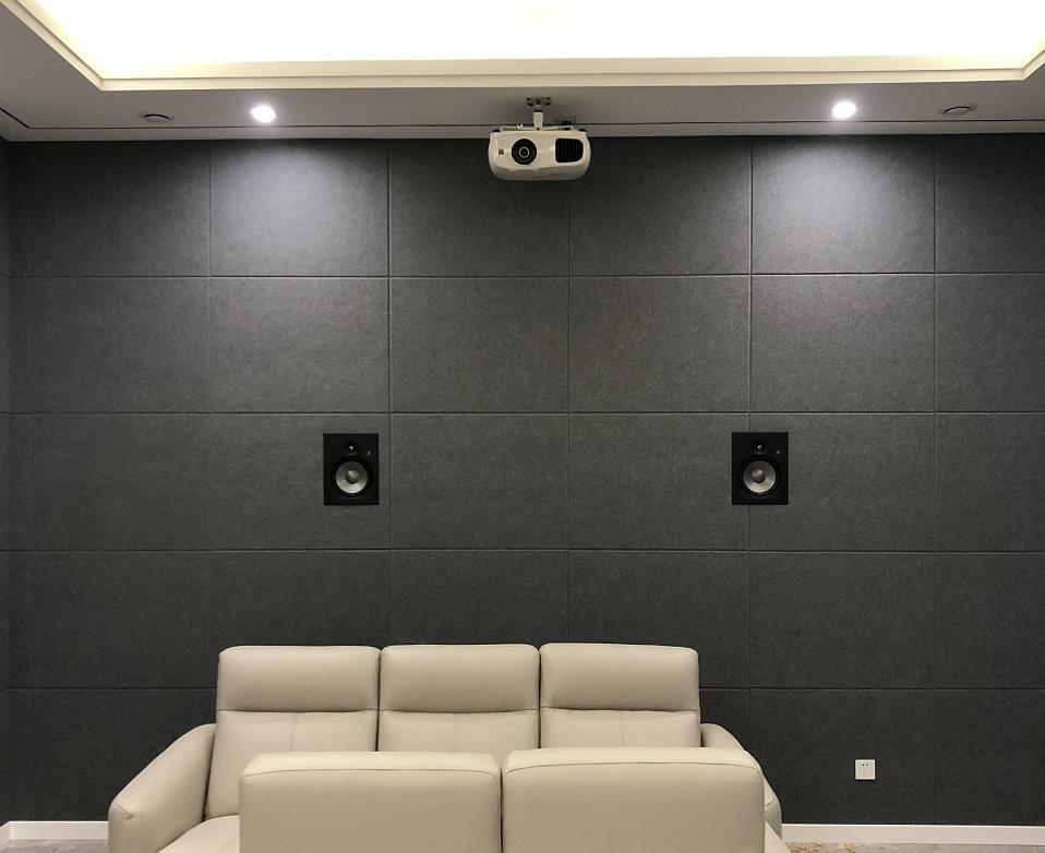 近期完成的家庭影院系统展示——金科天喜小区