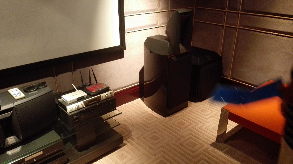 玉渊潭小区JBL Array系统家庭影院