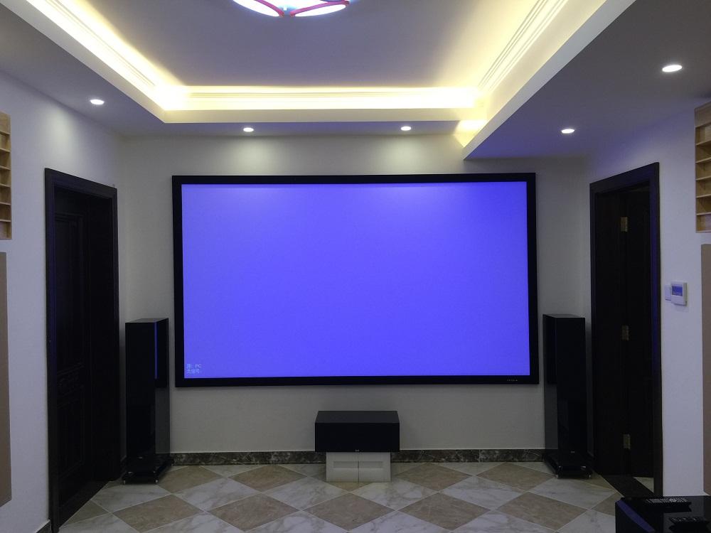 北昌家庭影院范例—牛驼孔雀城ELAC音箱影院