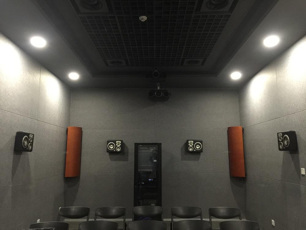 爱普生公司展厅全景声影院