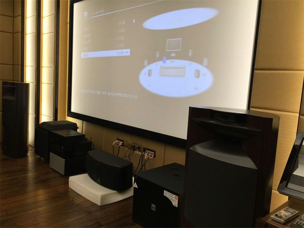 唐山客户的JBL K2S9900家庭影院系统