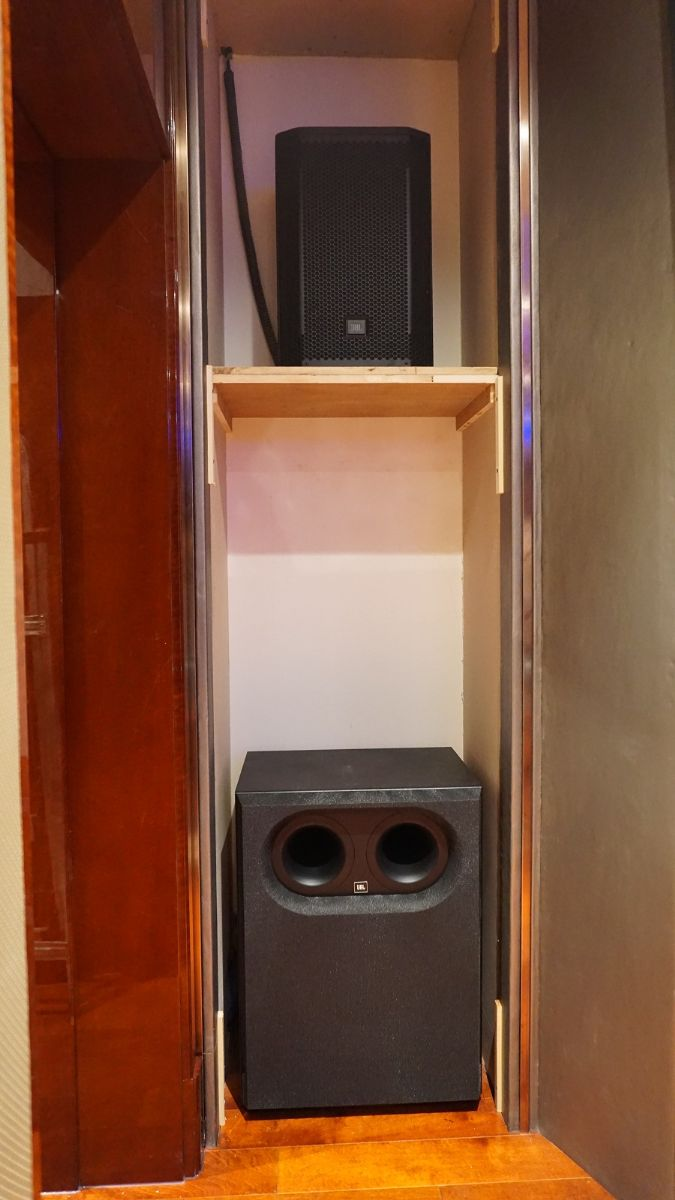 JBL Synthesis Two Array廊坊安装实例