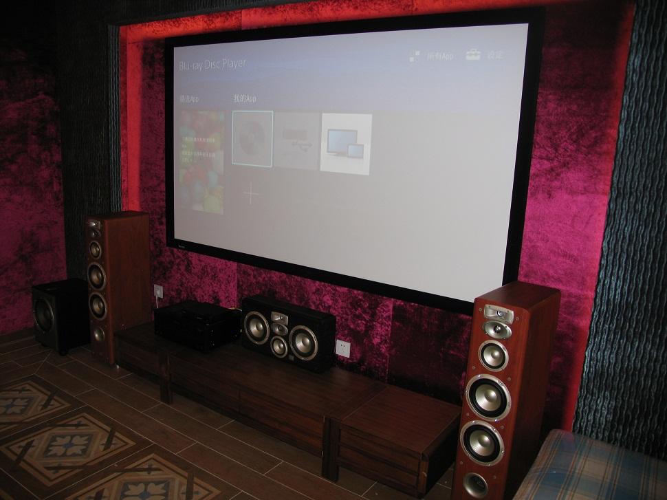 JBL L系列家庭影院配置案例一
