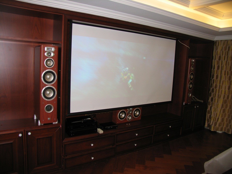 JBL L系列家庭影院配置案例二