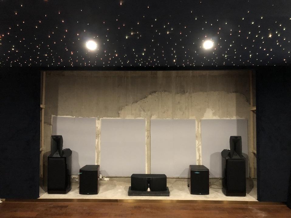 近期完成的家庭影音系统展示——财富公馆