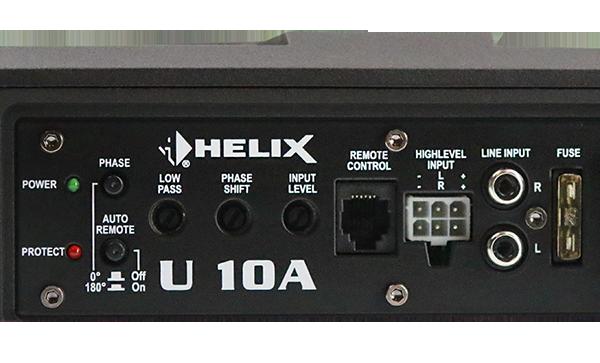 德国HELIX U10A超薄有源低音炮 无压缩声压转换力量感爆满