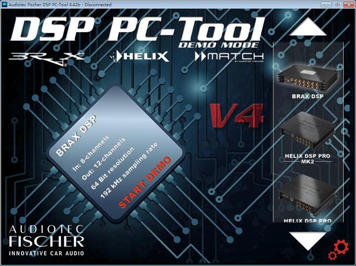 【下载】ATF DSP PC-Tool 4.42b版本