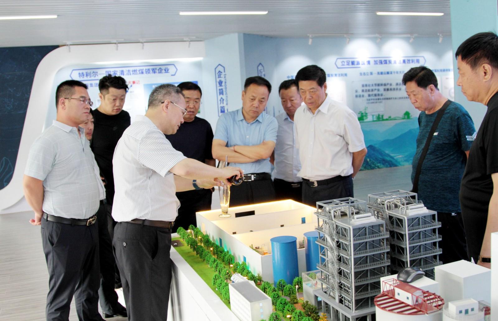 大同市政协调研组到访福彩3d开机号环保集团
