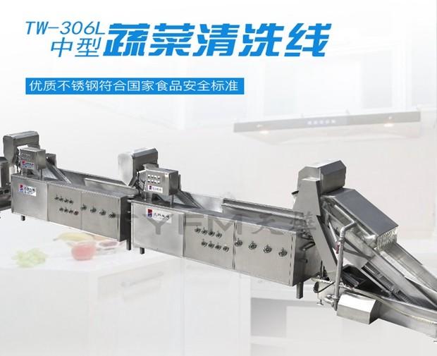 TW-306L中型蔬菜清洗线