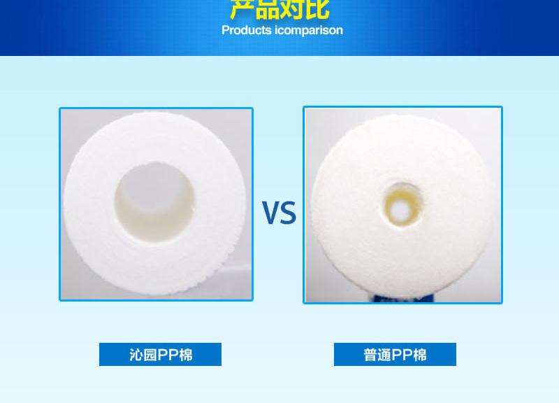 12寸自制模块式PP棉滤芯 ,适用于UF-401A、UF-05A、R5-01A/01E/01H/01D等