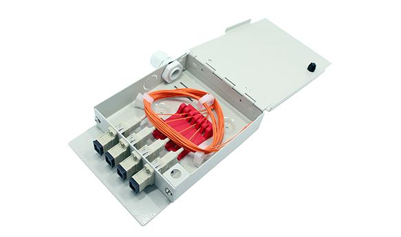 4 Cores Fiber Terminal Box