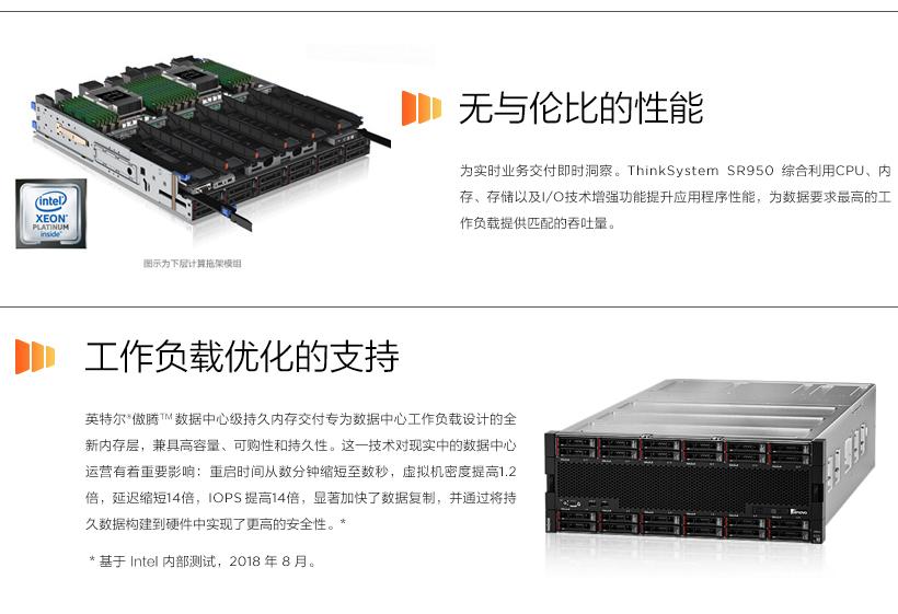 Lenovo ThinkSystem SR950 - IT硬件维保 - 北京双鑫汇在线科技