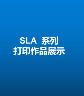 SLA系列打印作品展示