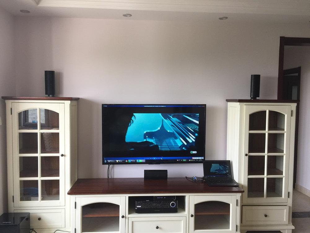 观林园小区客户哈曼客厅影音系统