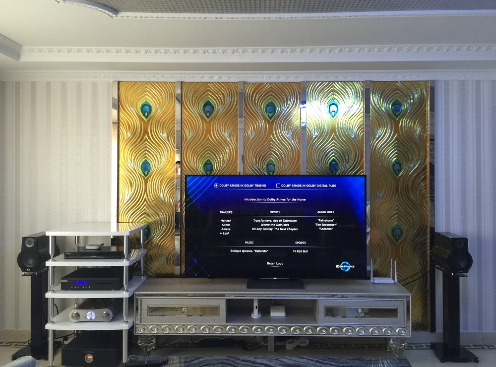 西格玛公寓的ELAC330音响系统