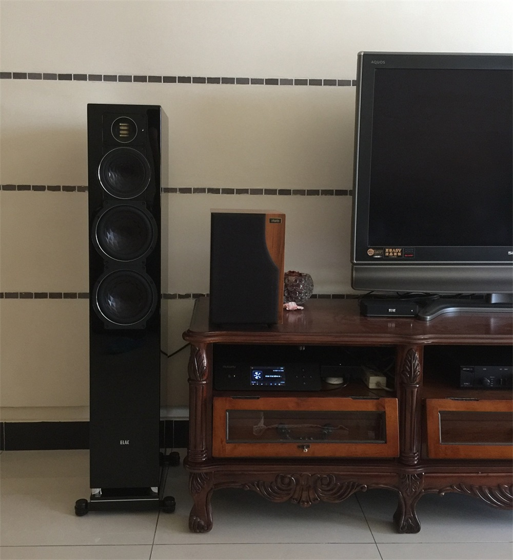 大湖小区客户的ELAC409音箱